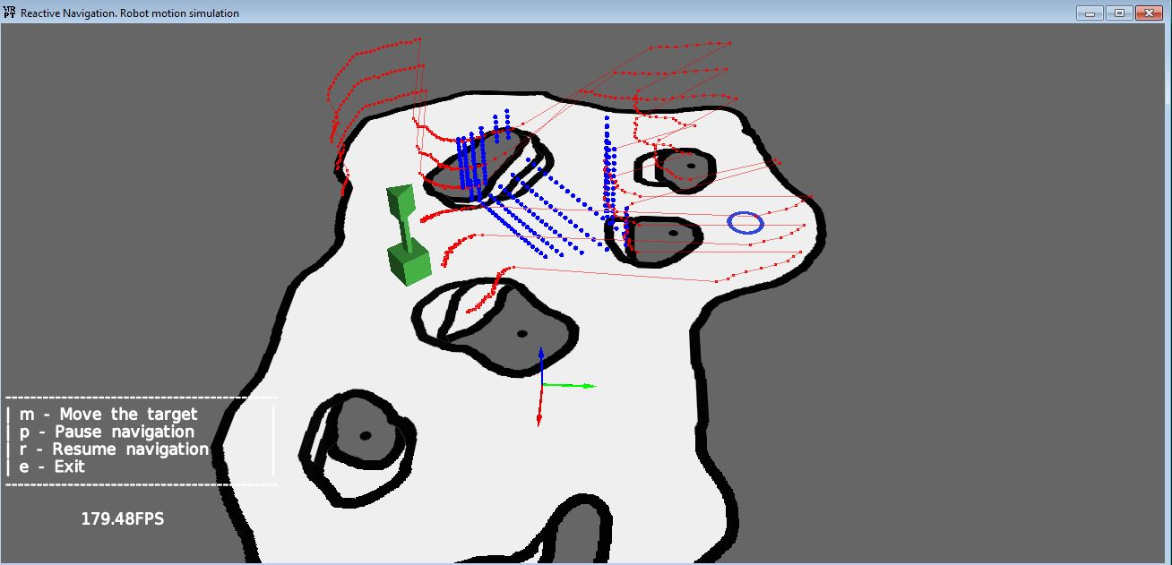 Application: ReactiveNav3D-Demo – MRPT