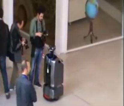 Autonomous navigation of robot \'Sancho\'