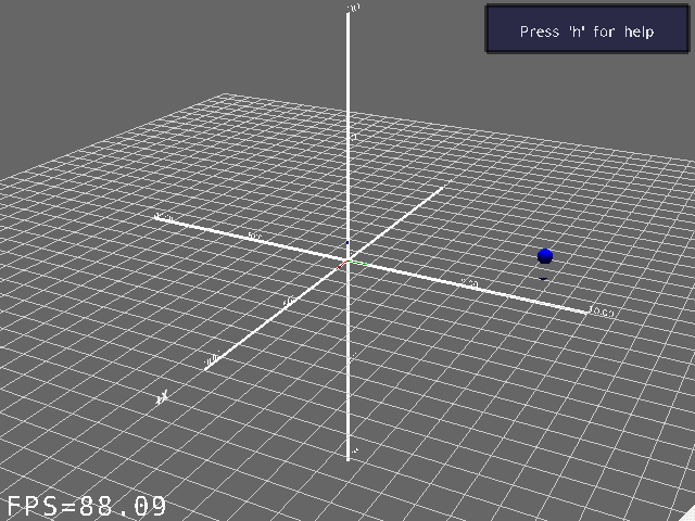 Screenshot-Example of 3D Scene Visualization - MRPT-1