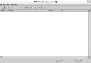niiotrace - screenshot OpenSUSE