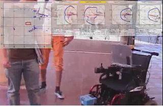 Autonomous navigation of a robotic wheelchair