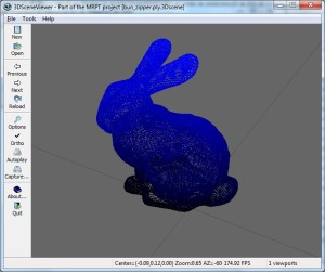 bunny_ply_import_in_SceneViewer3D