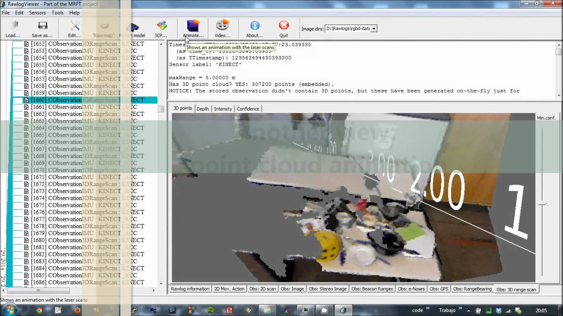 Application: RawLogViewer