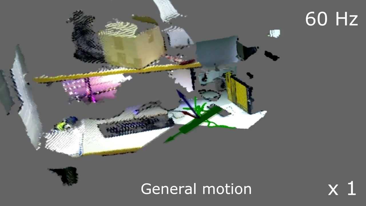 Application: DifOdometry-Camera